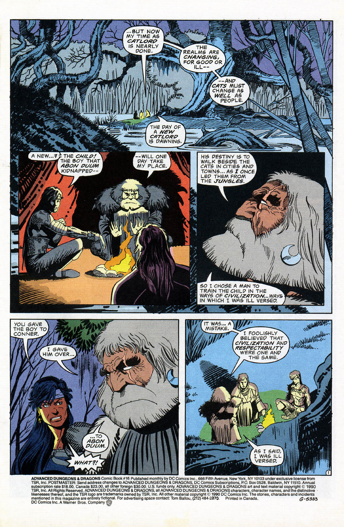 Read online Advanced Dungeons & Dragons comic -  Issue #16 - 3