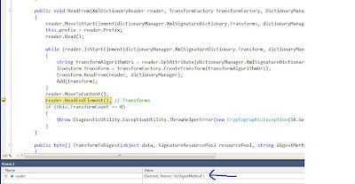 Security Interop Gotcha: Empty Signature Transformation - DZone