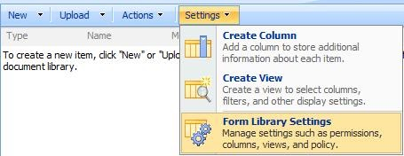 sharepoint administration step by step guide on publishing infopath forms to sharepoint site