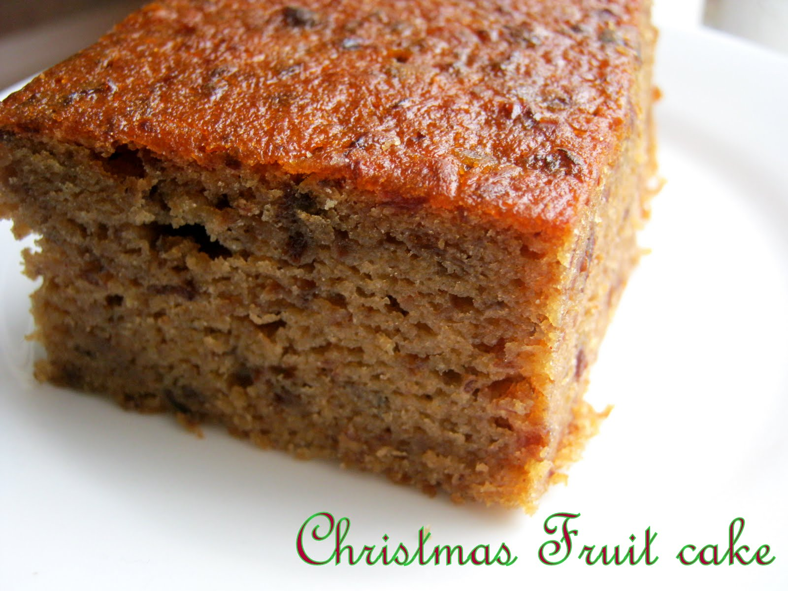 West Indian Christmas Cake Recipe