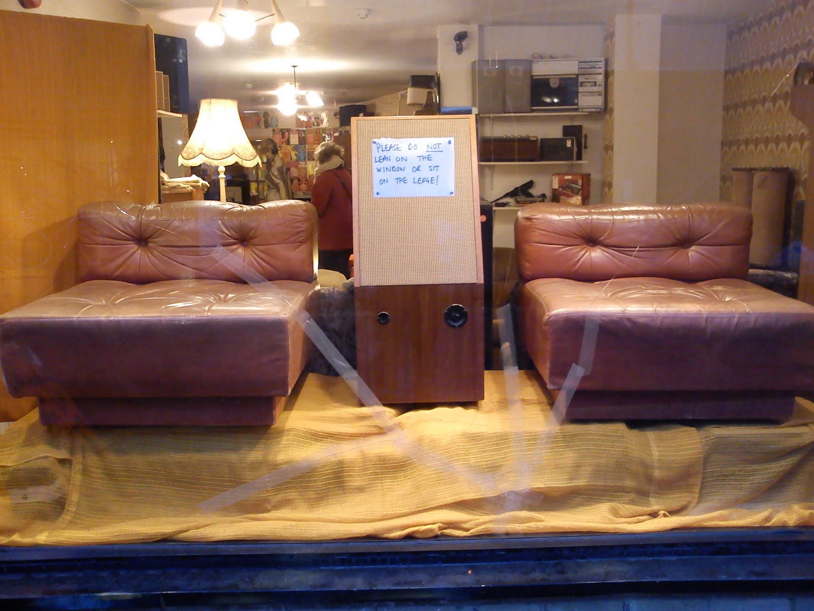 1970s modular leather chairs/sofa £SOLD