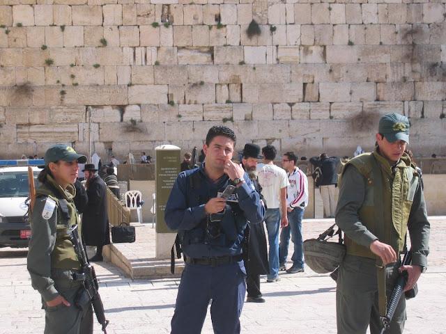 muro de las Lamentaciones, soldados israelíes