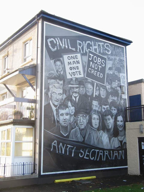 murales de Derry civil rights