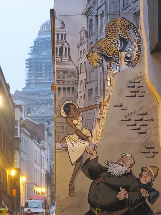 Mural Verron & Yann - Odilon Verjus