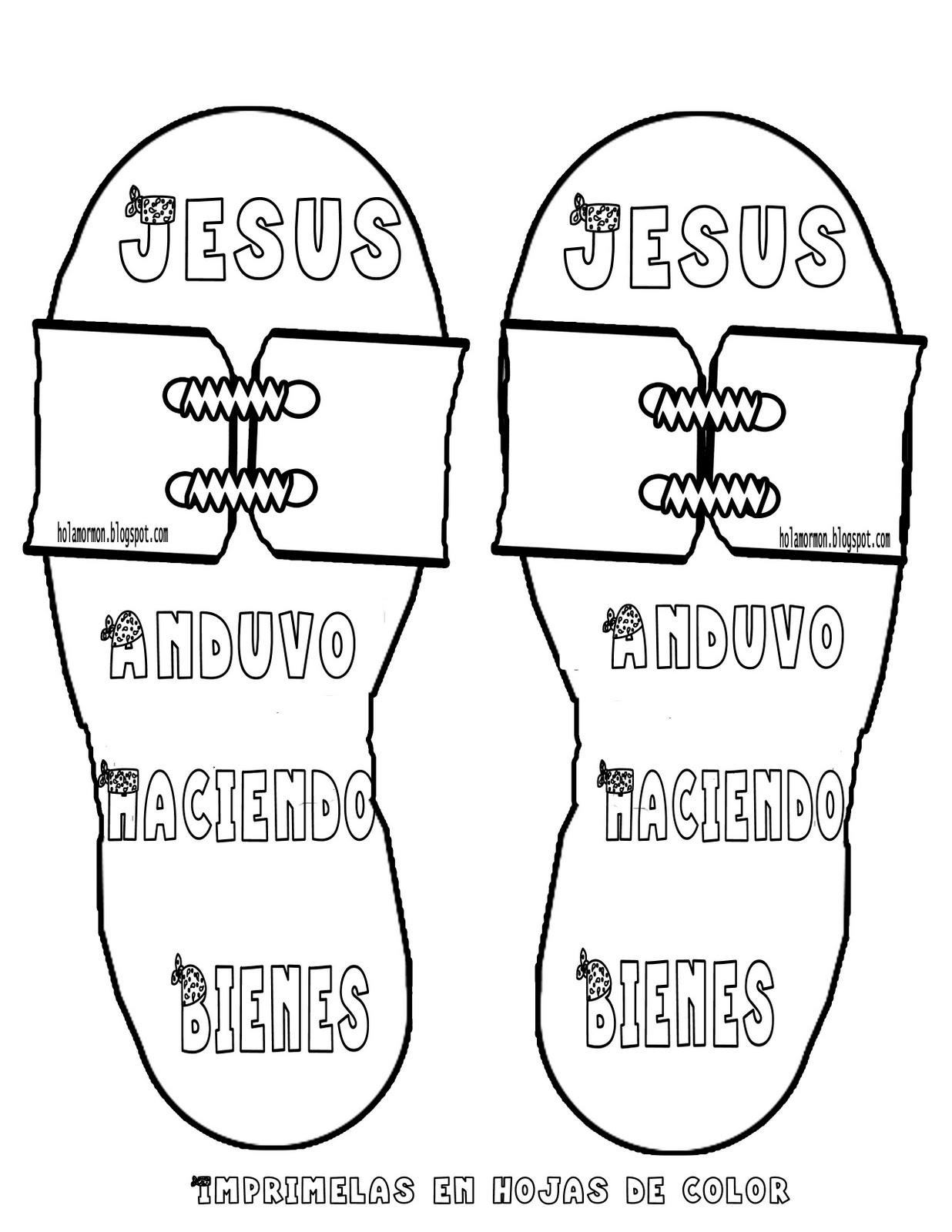 Holamormon2: SANDALIAS DE JESUCRISTO (CRAFT-MANUALIDAD-ACTIVIDAD)
