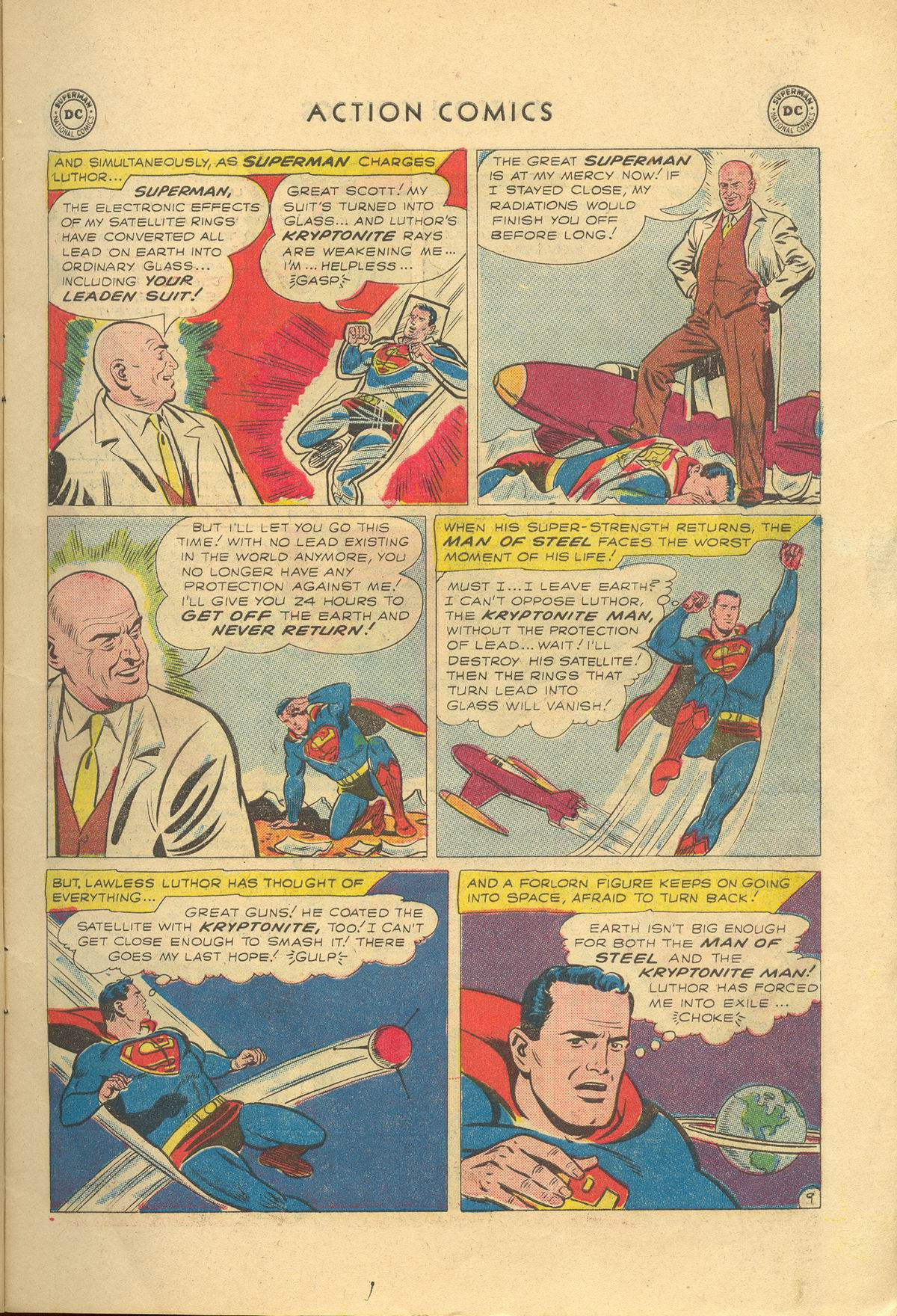 Read online Action Comics (1938) comic -  Issue #249 - 11