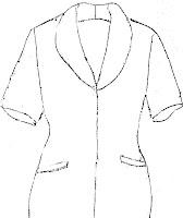 Muchos sacos, blazer, chaquetas, blusas y vestidos llevan cuello smoking. Moda que permanece.
