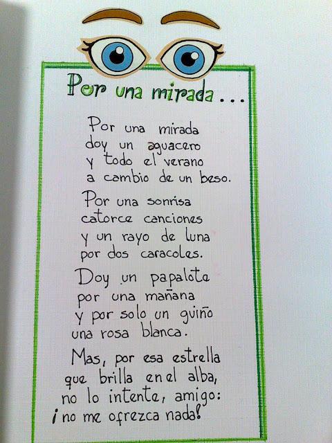 """PAPIRO infantil: """"Por una mirada"""", poema de Abel Guerrero"""