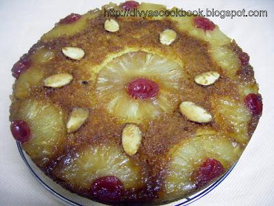 Eggless Pineapple Cake Recipe By Nisha Madhulika