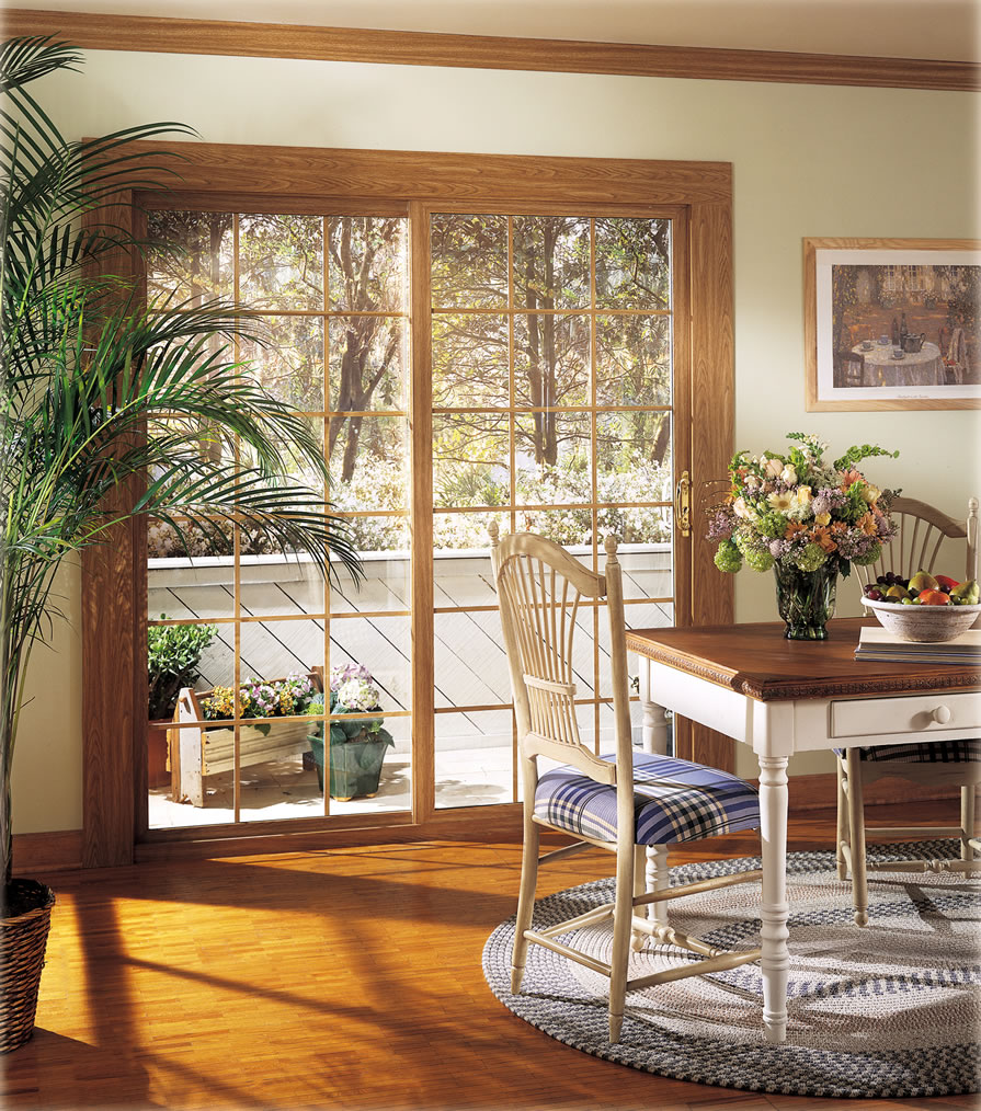 Glass Patio Doors: Graceful Sliding Glass Doors For Your Living Area And Home