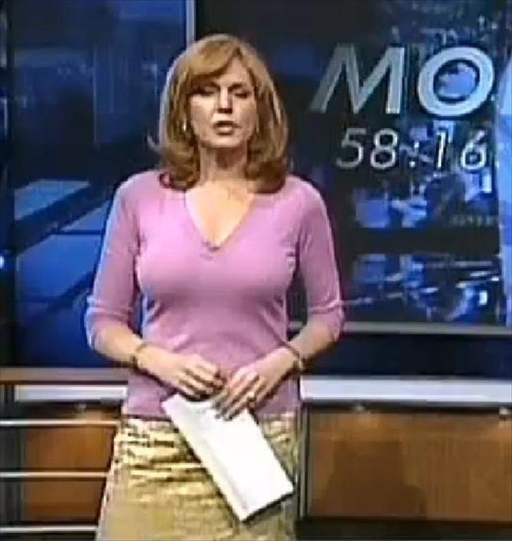 Spicy Newsreaders Liz Claman Very Sexy Milf Newsanchor Of