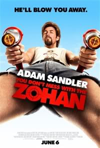 You Don't Mess with the Zohan Movie