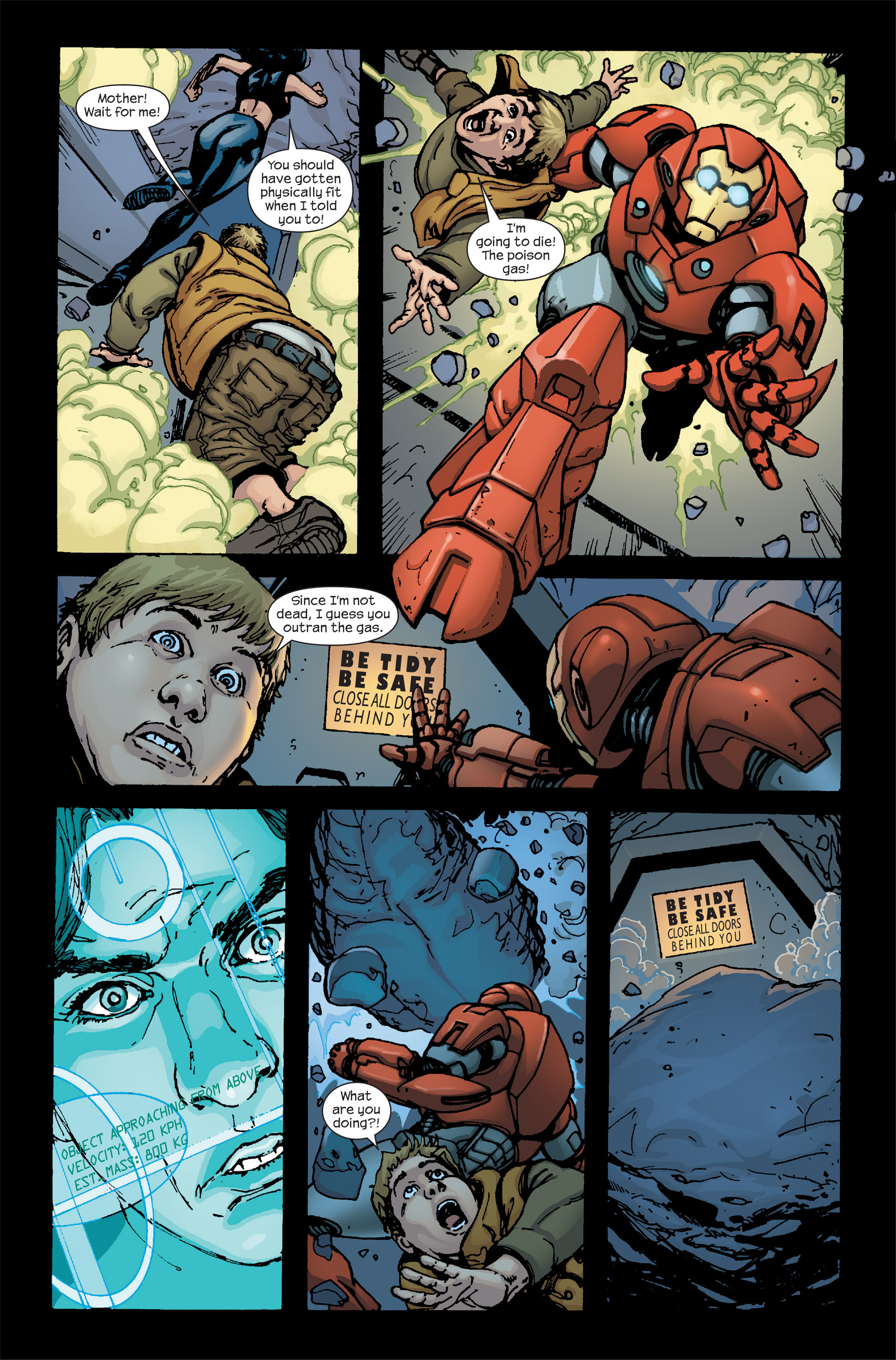 Read online Ultimate Iron Man II comic -  Issue #5 - 16