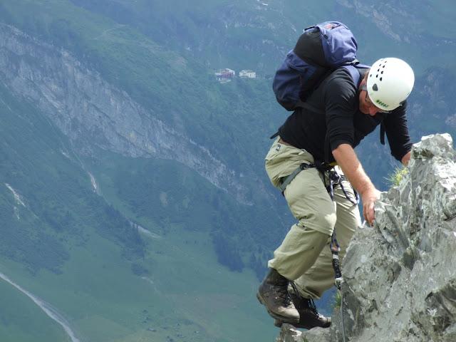 Klettersteig Zittergrat : Eine andere seite von jens oldenburg klettersteige engelberg