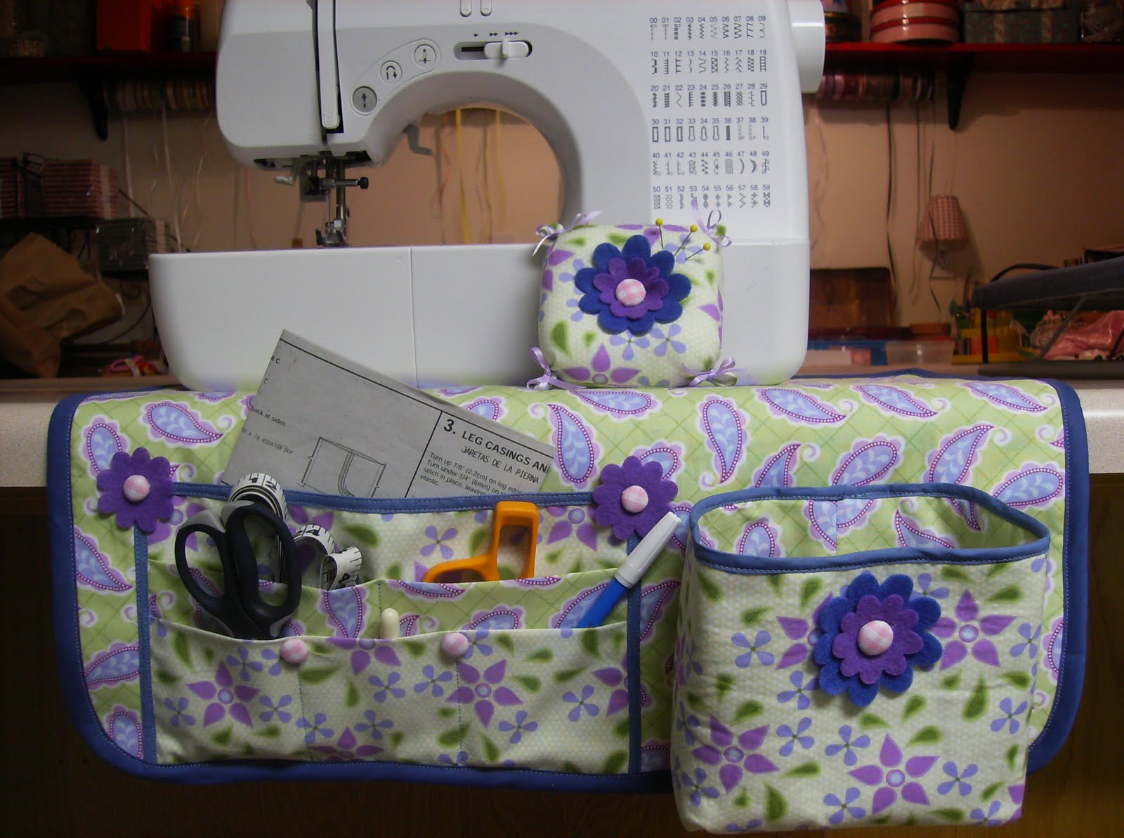 Sewing Machine Mat Organizer Tutorial Bumbleberries Boutique