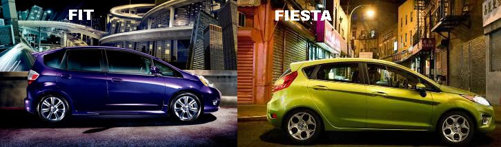 Honda Fit Vs Ford Fiesta Part Ii
