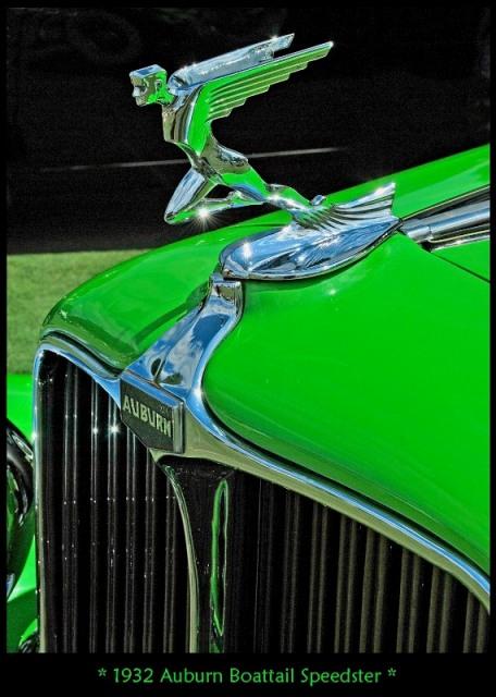 Solitary Dog Sculptor I Cars 1932 Auburn 12 160a