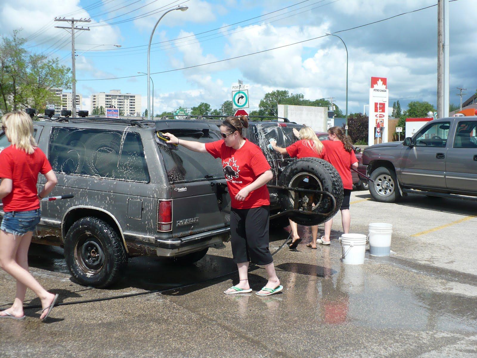 Portage Car Wash: Manitoba Inferno Ringette: June 2010