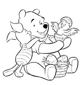 Print Desenhos Desenho Para Colorir Do Ursinho Pooh Puff E De