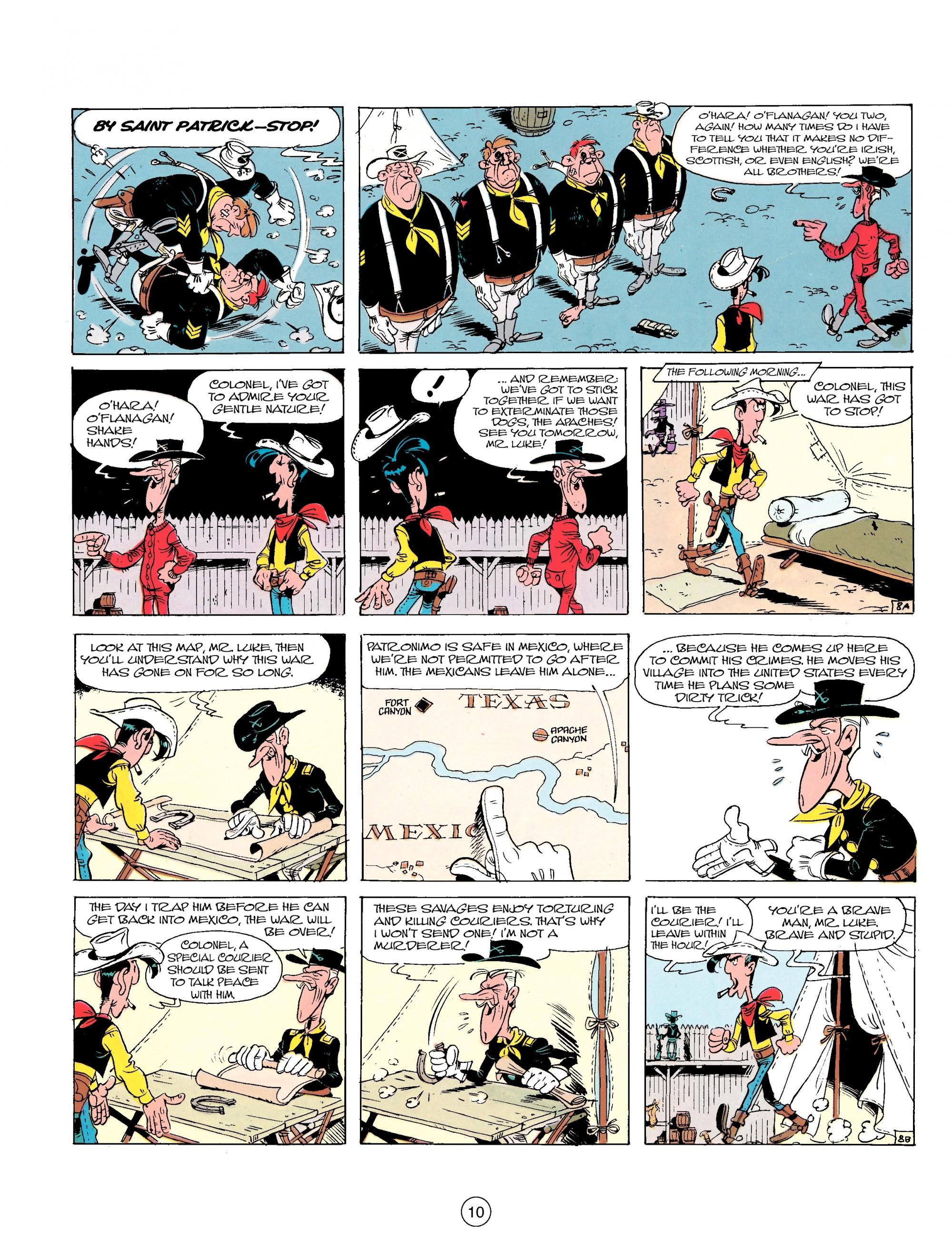 Read online A Lucky Luke Adventure comic -  Issue #17 - 10