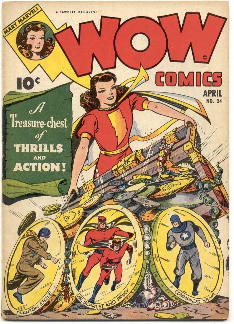 Wow Comics 24 Page 1