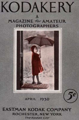 isn't this old photography magazine cover adorable?