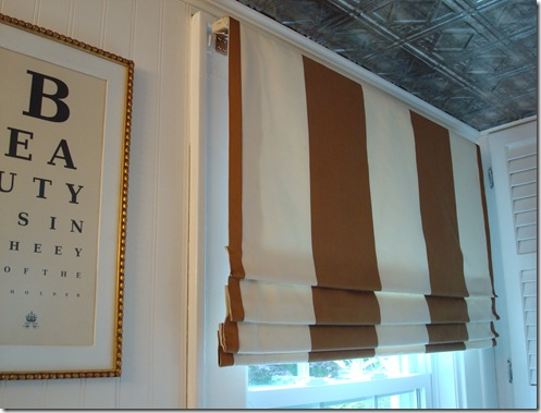Westhampton Diy Faux Roman Shades Or Fixed Roman Shades