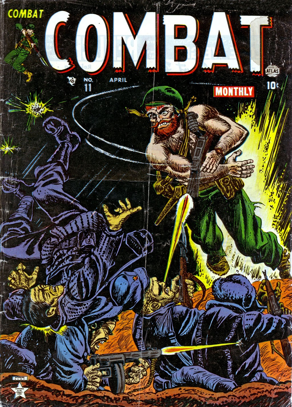Combat (1952) issue 11 - Page 1