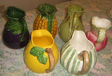 Pitchers in Fruit & Vegetable Motif