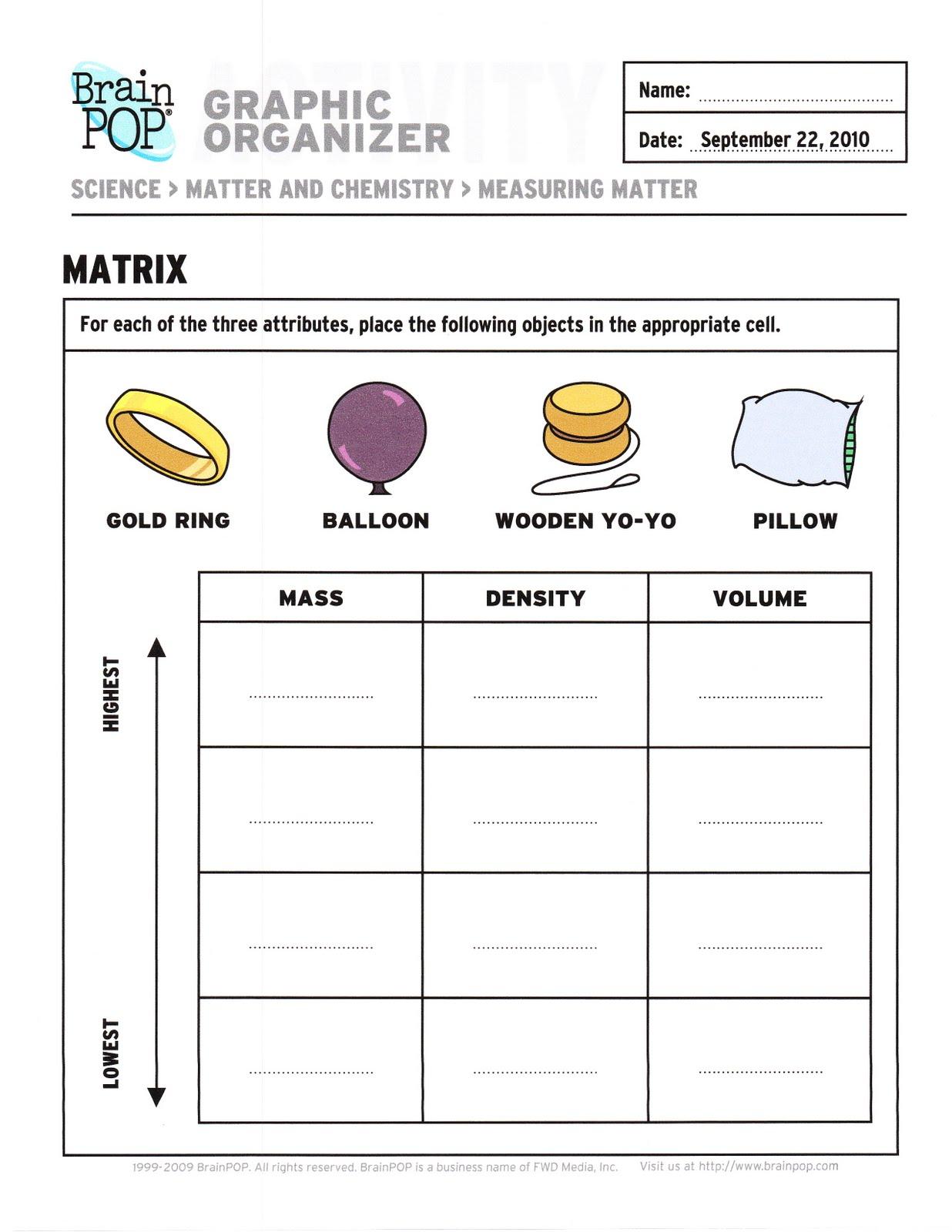 Drden S Eighth Grade Science Class September