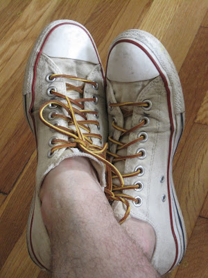 99cba9ed6c71 Chucks with leather rawhide laces