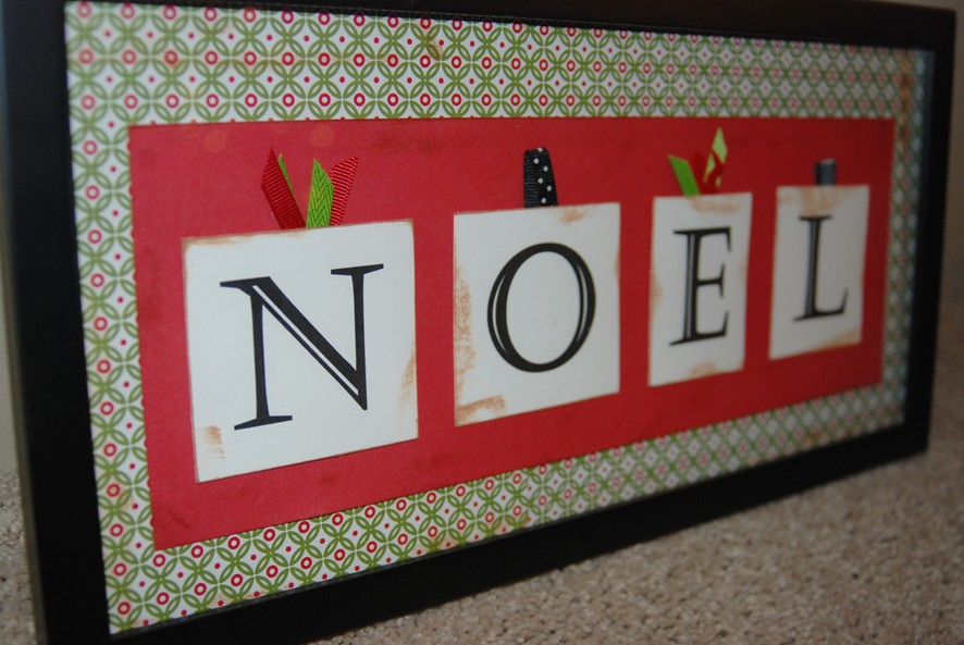 This Is To Display Your Christmas Cards Really Easy Make Yardstick Clothespins Paint And Ribbon You Can Use It Vertically Or Horizontally