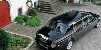 Rolls Royce Phantom Stretch Limousine
