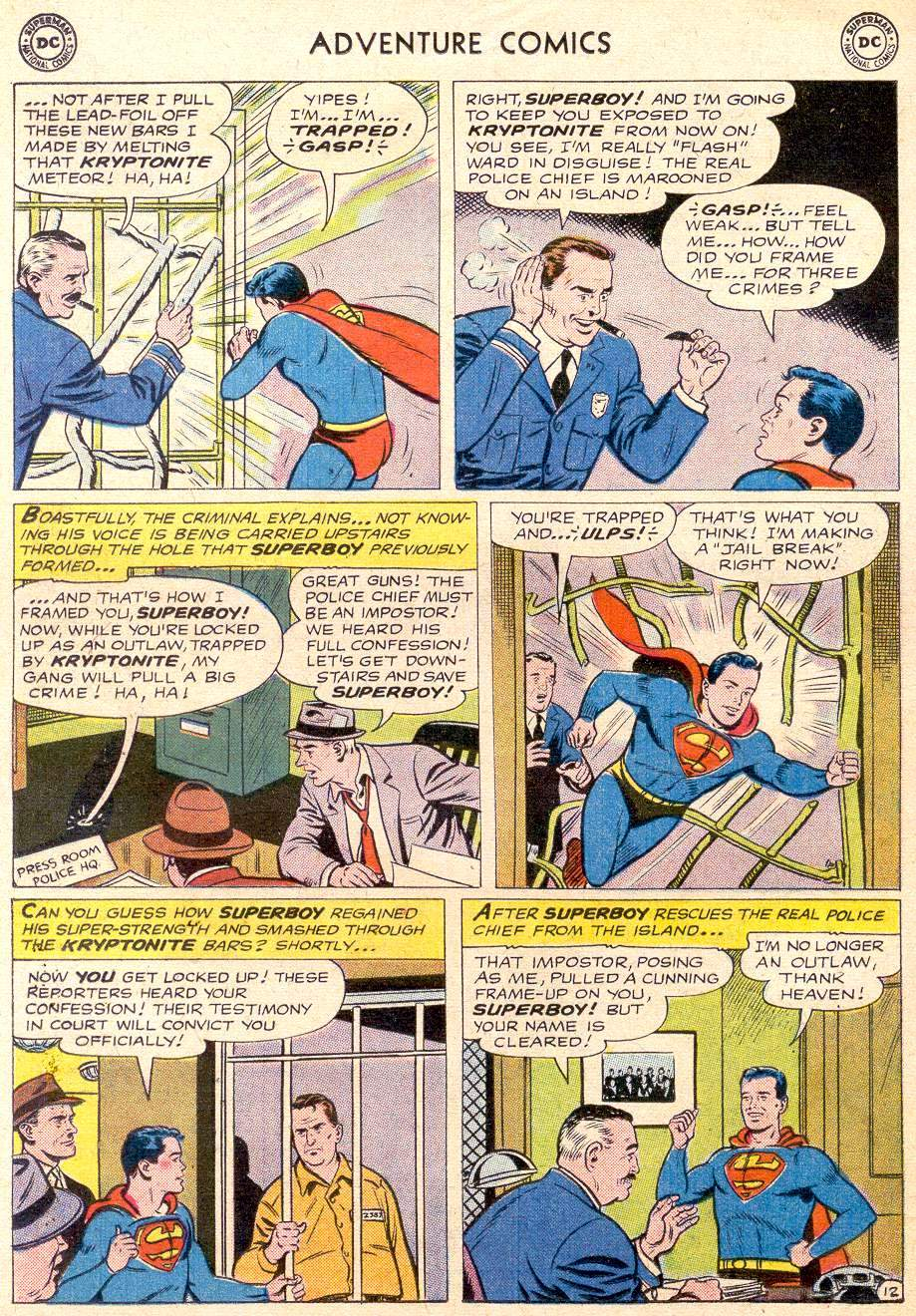 Read online Adventure Comics (1938) comic -  Issue #256 - 14
