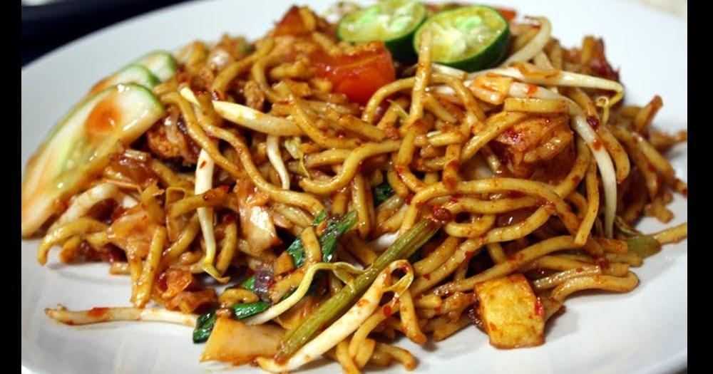 Vegan-Love-Food: Indian Mee Goreng (Stir Fried Yellow Noodles)