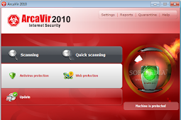 برنامج ArcaVir Internet Security 2010 10.05.3202.9