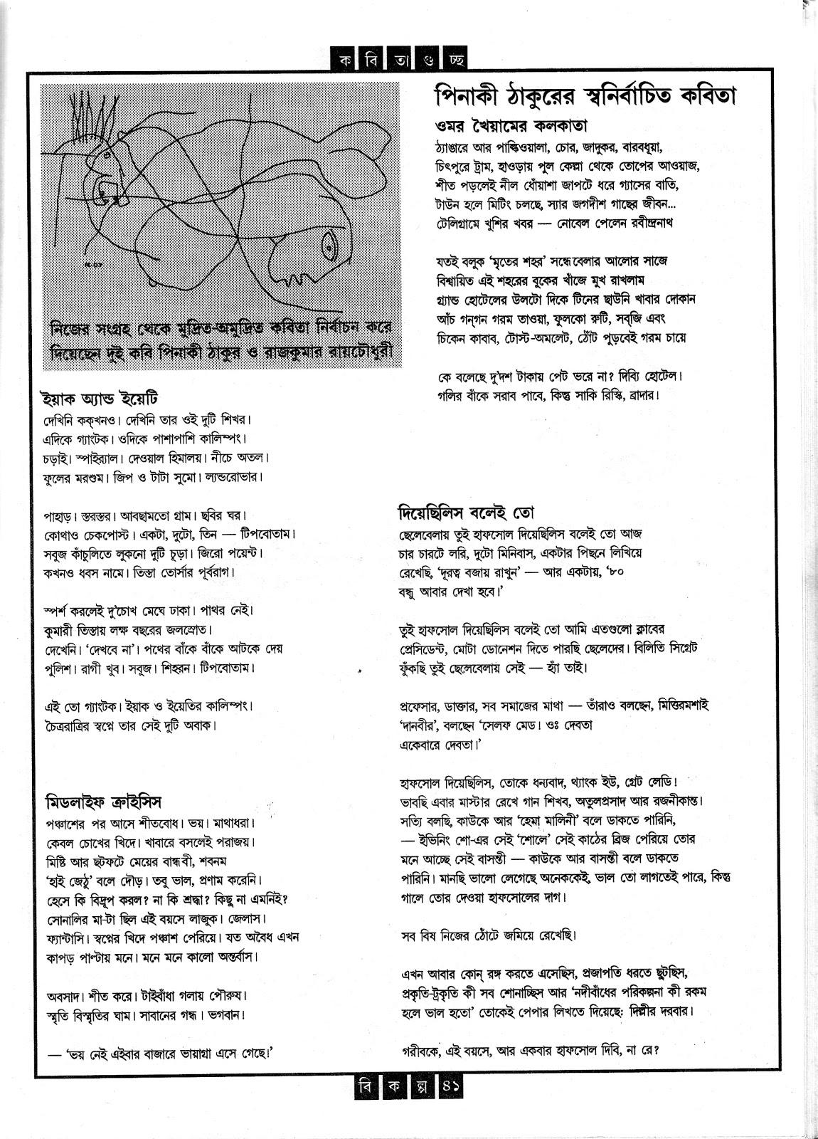 Shakti Chattopadhyay Kobita Somogro Pdf