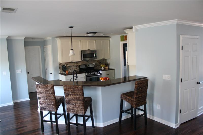 Kitchen Remodel How To Glass Tables And Chairs Remodelaholic With Breakfast Bar