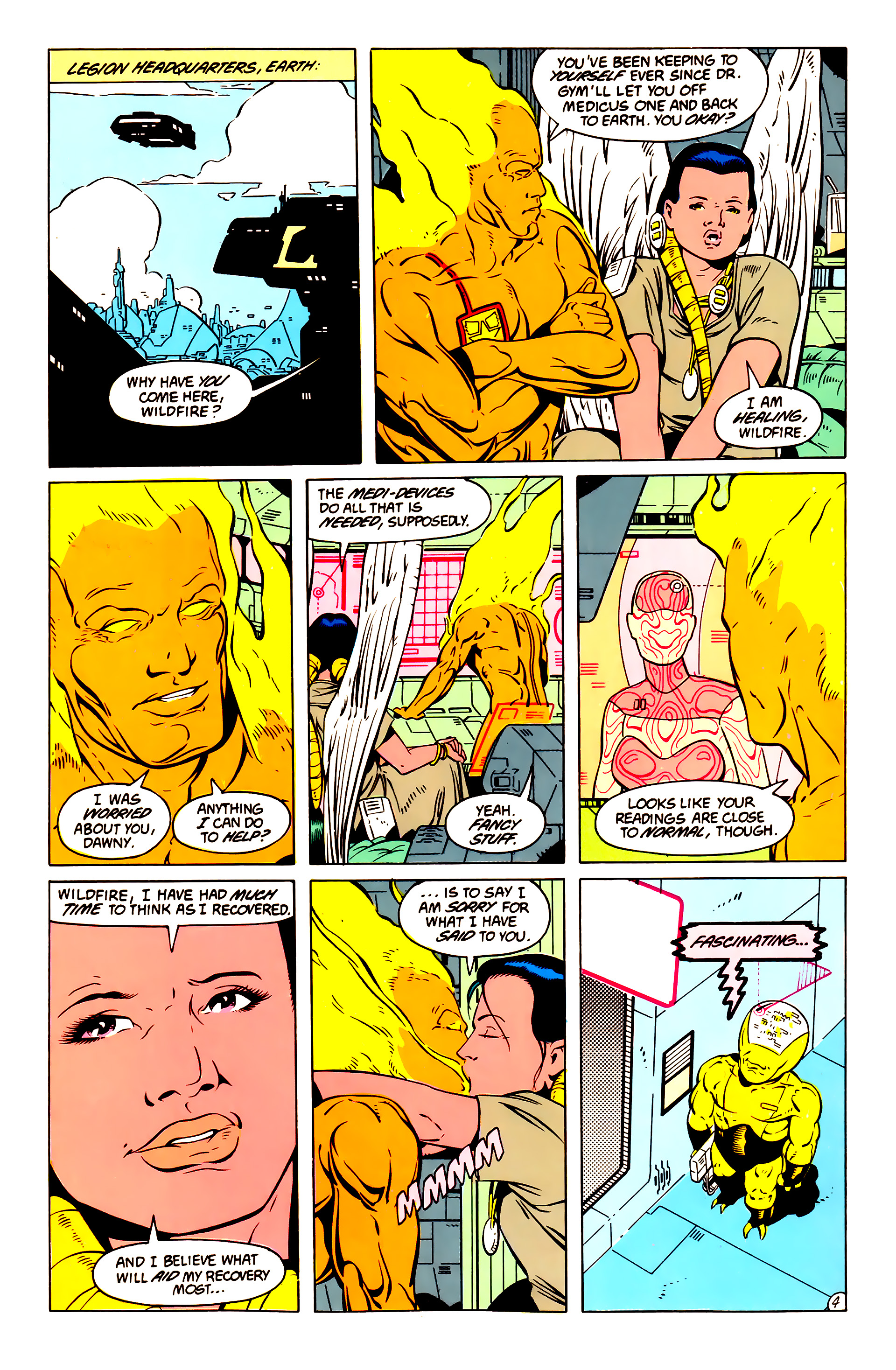 Legion of Super-Heroes (1984) 57 Page 4