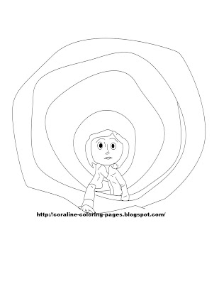 Coraline Coloring Pages First Set Of Coraline Coloring Pages
