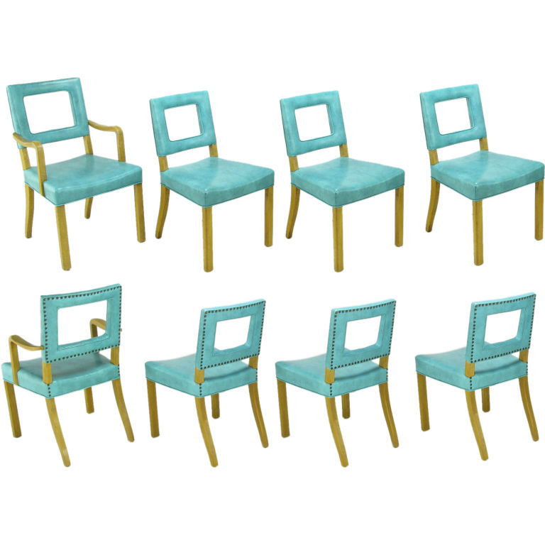 Yellow Vinyl Chairs Chrome And Gl Table Bertoia Wire Side I May Keep This Set Dining Room Pinterest Chair