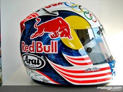 8bd686f8 Racing Helmets Garage: Arai RX-7 Corsair Nicky Hayden
