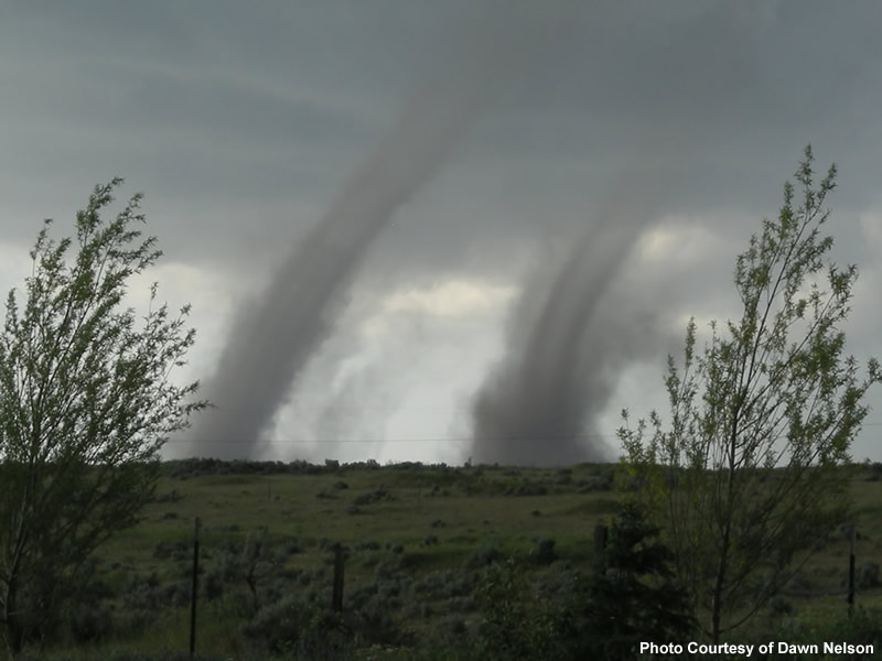 Twin Tornadoes Forming The Best is Yet to Be:...