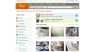 Etsy -- Your place to buy and sell all things handmade