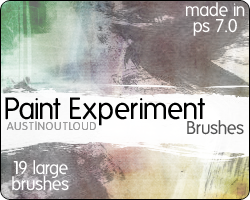 Paint Experiment Brushes