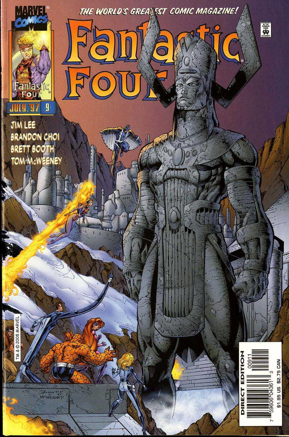Fantastic Four (1996) 9 Page 1