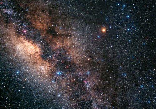 Sterne Milchstraße
