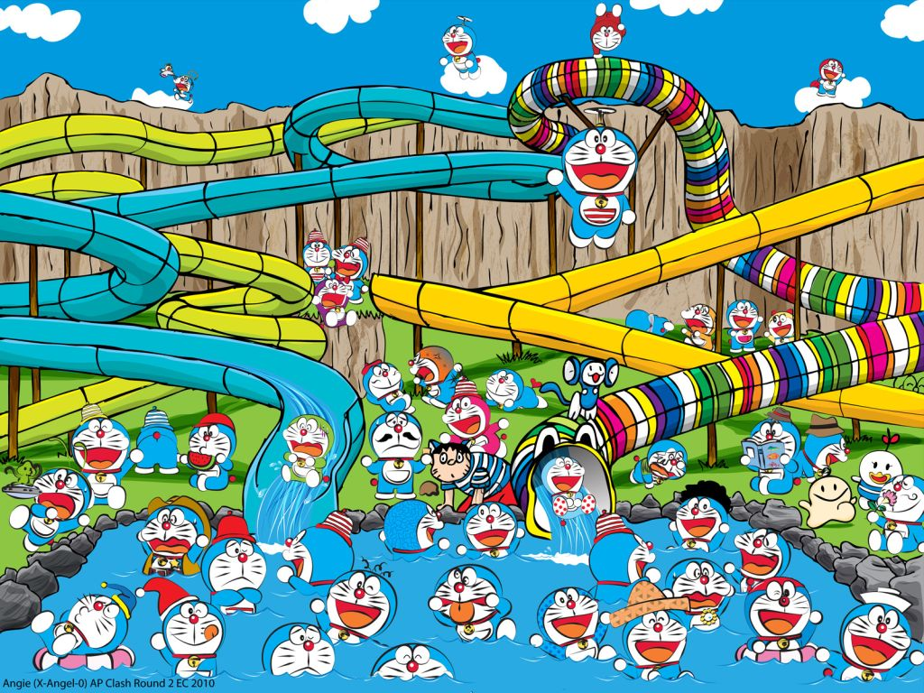 Gambar Animasi Doraemon Bergerak Lucu Terbaru Wallpaper Doraemon Animation 3d Gudang Wallpaper