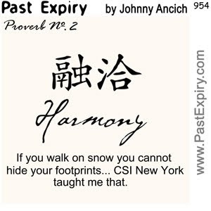 [CARTOON] Proverb No. 2 - Harmony.  images, pictures, proverb, cartoon, Confucius, spoof,