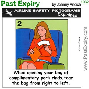 [CARTOON] What's The Deal With Airplane Peanuts?.  images, pictures, airlines, cartoon, food, pictogram, Peanuts, safety
